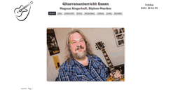 Preview of gitarrenunterricht-essen.de
